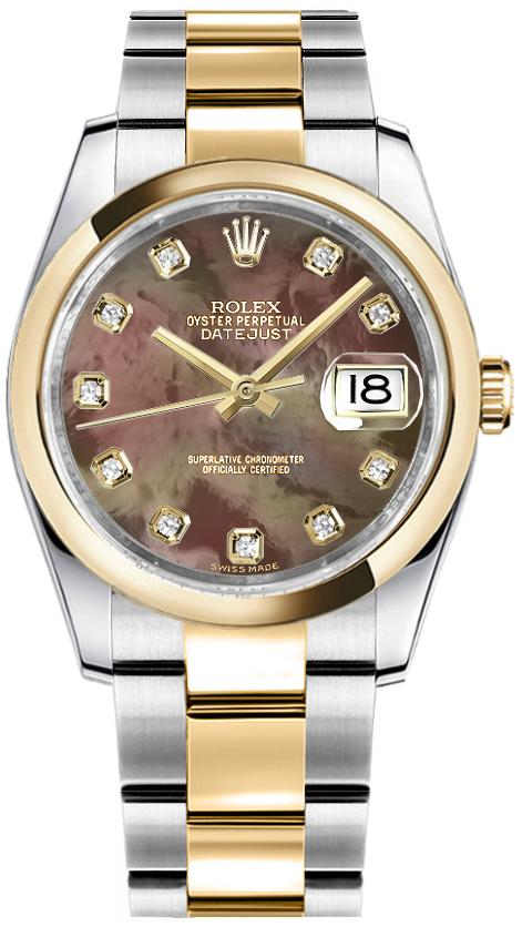 سعر ساعة رولكس ديت جست الأصلية 116203